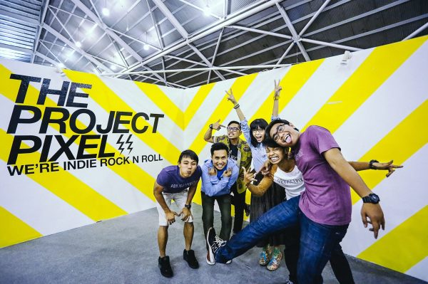 The awesome people in our committed team. From left: Zohri,Halil,the Creative Director Shukri, Hali,Azari and Rawandi.
